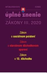 Aktualizácia III/10 2020 – 13. dôchodok