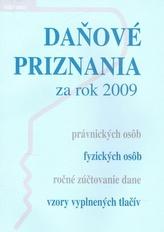 Daňové priznania za rok 2009