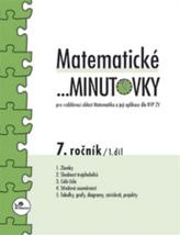 Matematické minutovky pro 7.ročník 1. díl