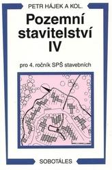 Pozemní stavitelství IV pro 4. ročník SPŠ stavebních