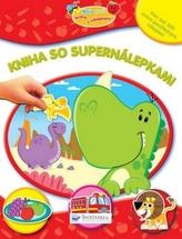 Kniha so supernálepkami