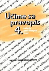 Učíme sa pravopis 4. ročník základných škôl