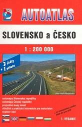 Autoatlas  Slovensko a Česko