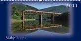 Vlaky Trains 2011 - nástenný kalendár